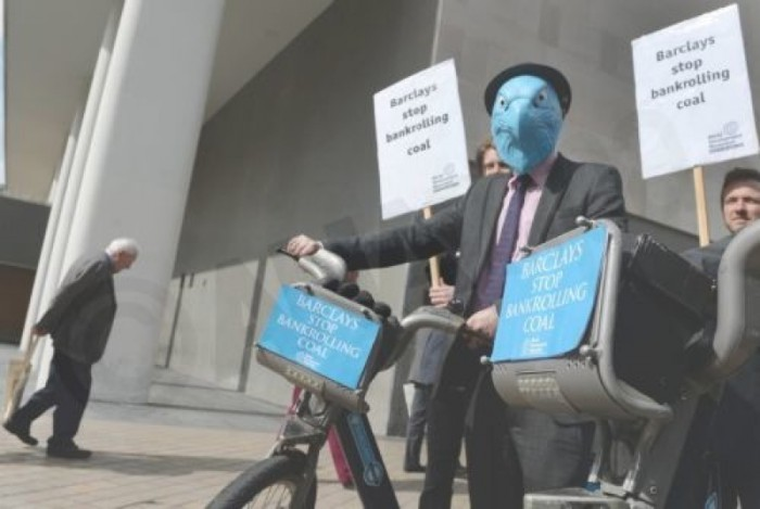 Protests as Barclays holds annual general meeting