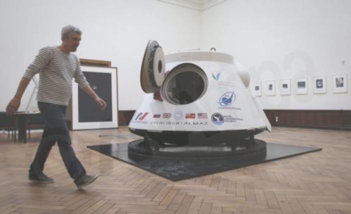 First space capsule in Europe in auction