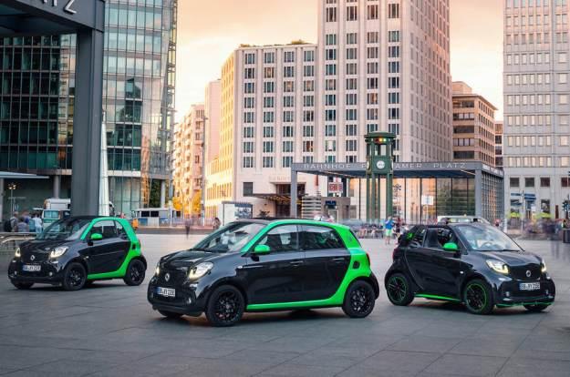 Πρεμιέρα για τα νέα Smart ForTwo και ForFour Electric Drive