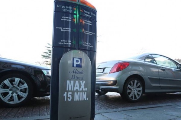 Έξυπνο παρκόμετρο για 15λεπτες στάσεις στις Βρυξέλλες