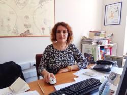 Η υπεύθυνη σχολικών δραστηριοτήτων της Διεύθυνσης Δευτεροβάθμιας Εκπαίδευσης Χανίων Αρετή Μαρματάκη