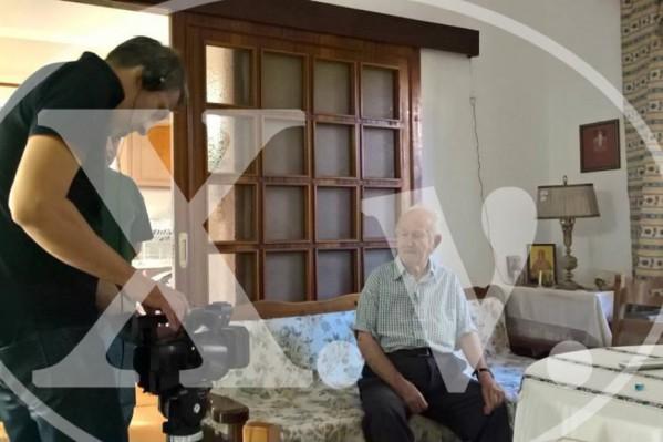 Συνεντεύξεις από ανθρώπους που έζησαν την κατοχή πραγματοποιήθηκαν στα Χανιά