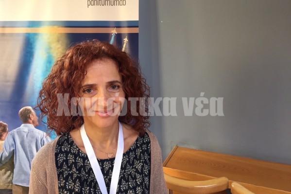 Η διευθύντρια της Ογκολογικής Κλινικής του Νοσοκομείου Χανίων Ηλιάδα Μπομπολάκη πραγματοποίησε ομιλία για τον καρκίνο του μαστού