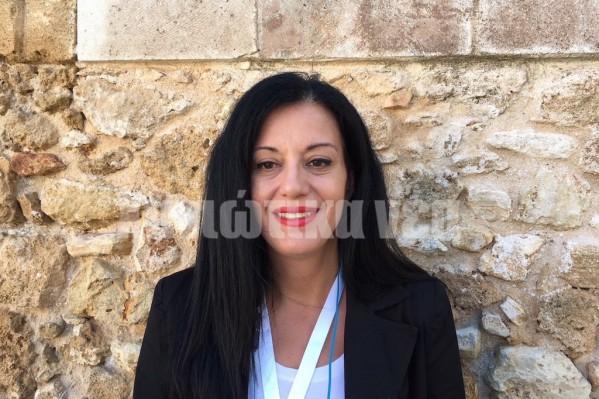 Η νοσηλεύτρια στη Μονάδα Βραχείας Νοσηλείας της Ογκολογικής του Νοσοκομείου Χανίων, Δόμνα Αρτεμάκη, αναφέρθηκε στη διατροφική υποστήριξη των ογκολογικών ασθενών