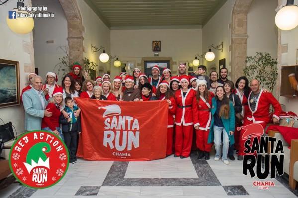 Από τις προετοιμασίες - συναντήσεις για το φετινό Santa Run