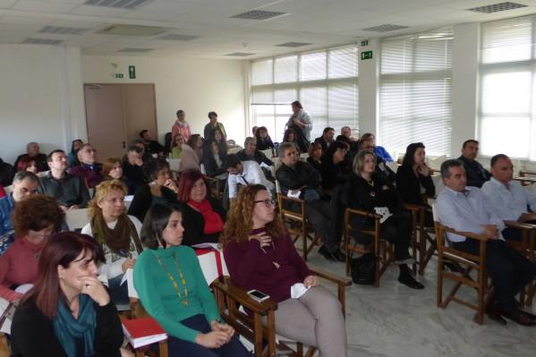Σημαντική ήταν η παρουσία εκπαιδευτικών στην χθεσινή ενημερωτική εκδήλωση