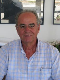 ο  διευθυντής  υδραυλικών έργων του ΟΑΚ κ. Μάρκος Πατρελάκης