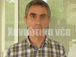 Ο πρύτανης του ΤΕΙ Κρήτης Νίκος Κατσαράκης.