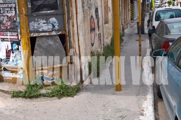 Οι επισκέπτες κατέγραψαν με τον φωτογραφικό τους φακό την τραγική κατάσταση που επικρατεί ακόμα και σε κεντρικά σημεία της πόλης σχετικά με την προσβασιμότητα των ΑμεΑ