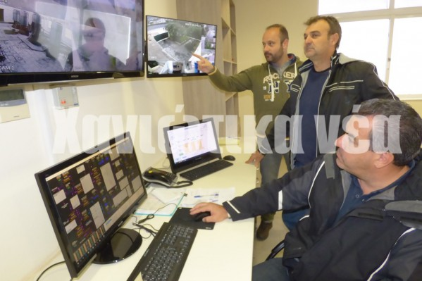 Προσωπικό του ΟΑΚ ελέγχει σχεδόν όλο το δίκτυο των μεγάλων αντλιοστασίων μέσα από ένα σύστημα καμερών και αισθητήρων