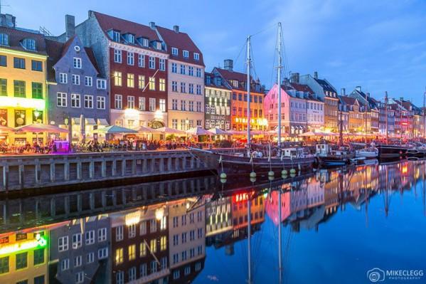 Aποψη της πρωτεύουσας της Δανίας, Κοπεγχάγης που στοχεύει στην ολική απεξάρτηση της από τον άνθρακα μέχρι το 2025.