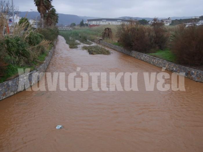 Τα αντιπλημμυρικά έργα των τελευταίων ετών έχουν μετριάσει τους κινδύνους για πλημμυρικά φαινόμενα από τον Κλαδισό ποταμό σύμφωνα με το σχέδιο.