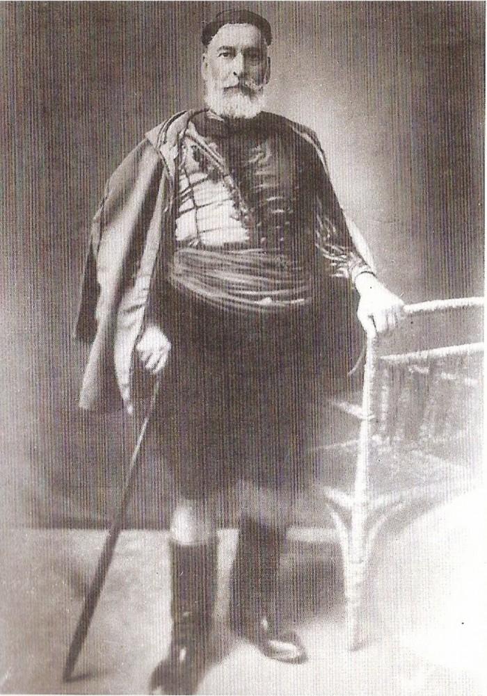 Ο Καπετάν Γιάννης Καλογερής από τους πρωταγωνιστές της νίκης των επαναστατών στην Αλμυρίδα.