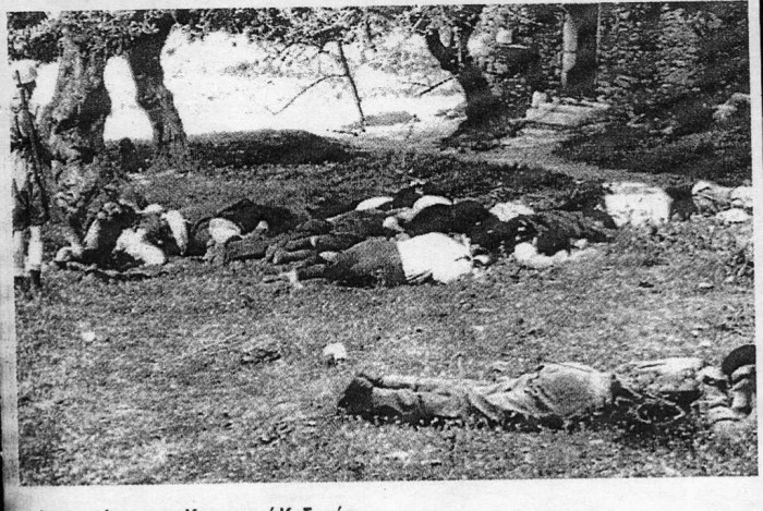 Εκτέλεση αμάχων στο Κοντομαρί Κυδωνίας