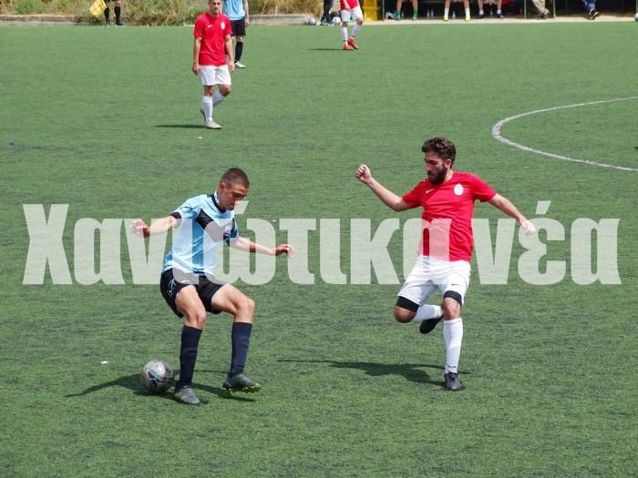 Με ισοπαλία ολοκλήρωσαν το πρωτάθλημα  Αστέρας Χ. και ΑΠ Σούδας.