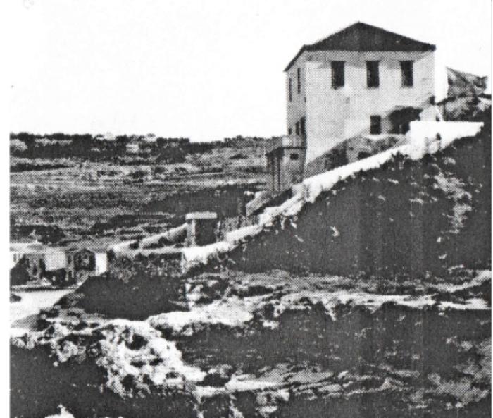 To σπίτι του Λιντζ στη Χαλέπα.