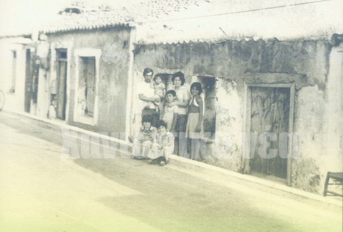 """Σπίτια στην Κάτω Σούδα, στα τέλη της δεκαετίας του '70 (αρχείο """"Χ.ν."""")"""