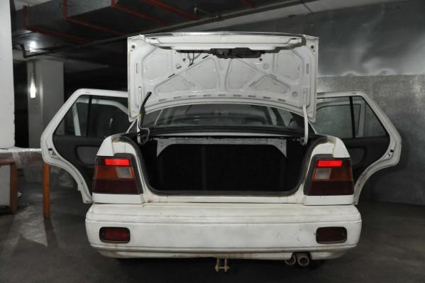 Το αυτοκίνητο του δράστη