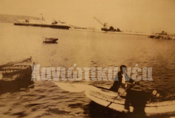 Μέχρι και τις πρώτες μεταπολεμικές δεκαετίες ήταν λίγα τα εμπορικά πλοία που προσέγγιζαν το λιμάνι της Σούδας σε εβδομαδιαία βάση.