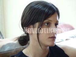 H υποψήφια διδάκτωρ του Γεωπονικού Πανεπιστήμιου Χρυσούλα Αρατζιόγλου