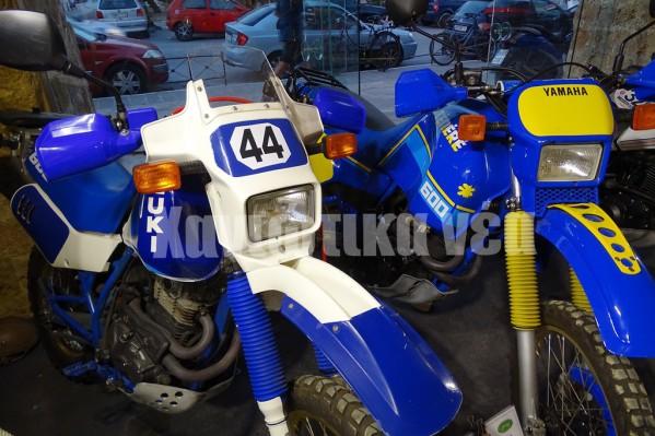 Αγαπημένες μηχανές off road Suzuki DR 600 και Yamaha Tenere.