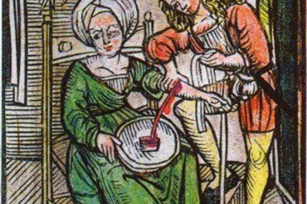 Η αφαίμαξη ήταν συνήθης θεραπευτική πρακτική στην Ευρώπη, μέχρι και τα τέλη του 19ου αιώνα, βασιζόμενη στη δοξασία ότι διώχνοντας το ''κακό αίμα'' θεραπεύονται πολλές ασθένειες.