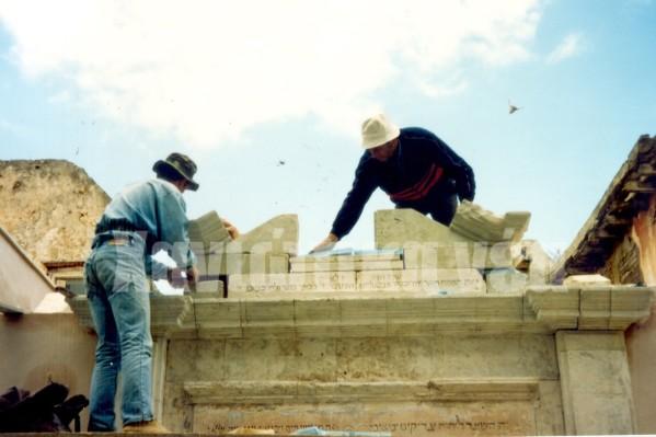 Χρειάστηκαν δύο χρόνια και εκτεταμένες εργασίες για να αποκατασταθεί το ιστορικό κτήριο.