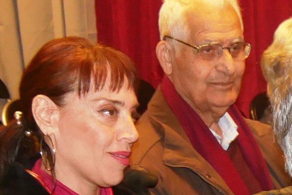 """Το """"παρών"""" στην εκδήλωση έδωσε και ο δάσκαλος - λαογράφος Σταμάτης Αποστολάκης με σχολιασμό των κειμένων του βιβλίου."""