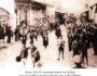 Χανιά 1934: Η νεκρώσιμη πομπή της κηδείας του Αρχιραββίνου Κρήτης Αβραάμ μπεν Δαβίδ Εβλαγόν.