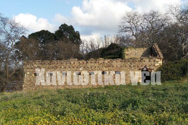 Αλευρόμυλος - ελαιοτριβείο δυτική όψη