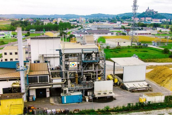 Άποψη της πόλης Gussing της Αυστρίας πρωτοπόρου στην ανάπτυξη τεχνολογιών ενεργειακής αξιοποίησης της βιομάζας στην Ευρωπαϊκή Ένωση όπου ο ενεργειακός τουρισμός αποτελεί σήμερα μία πραγματικότητα συμβάλλοντας στην ευημερία των κατοίκων της.
