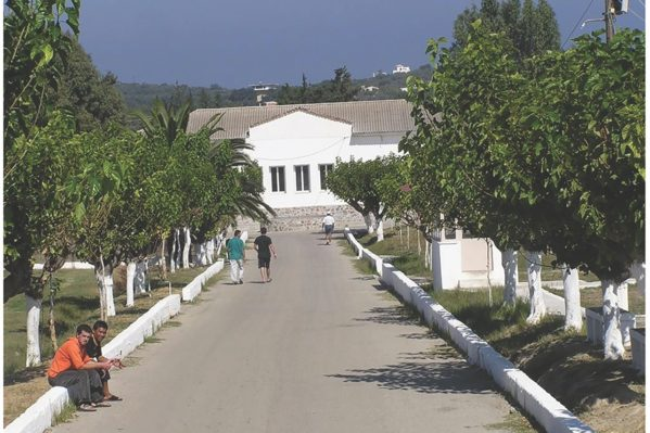 Άποψη της αγροτικής φυλακής Αγιάς