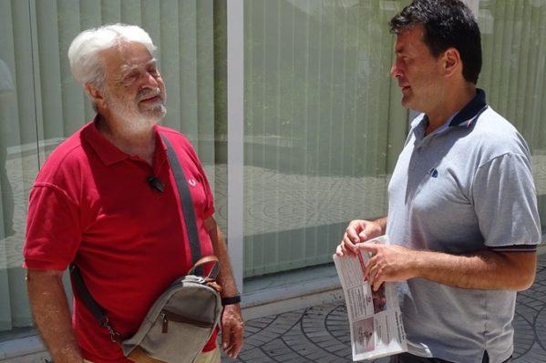 """Υποπλοίαρχος στο κίνημα του Ναυτικού το 1973 ο Χανιώτης Μανώλης Μπουζάκης μιλάει στα """"Χ.Ν.""""."""