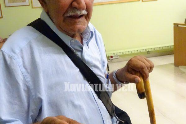 Με τον Εθνικό Στρατό υπηρέτησε σε Γράμμο και Βίτσι ο Κανάκης Γερωνυμάκης
